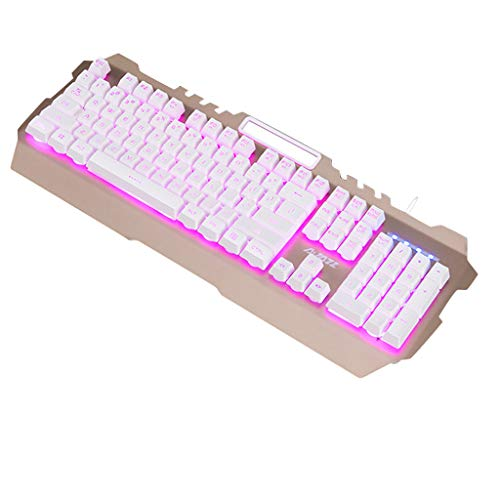 Ajazz 104Key Wired Gaming Teclado Cubierta