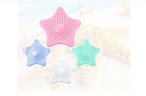filtro creativo in silicone a cinque punte a forma di stella per lavello da cucina e bagno taglia unica Blue MY.SPORT