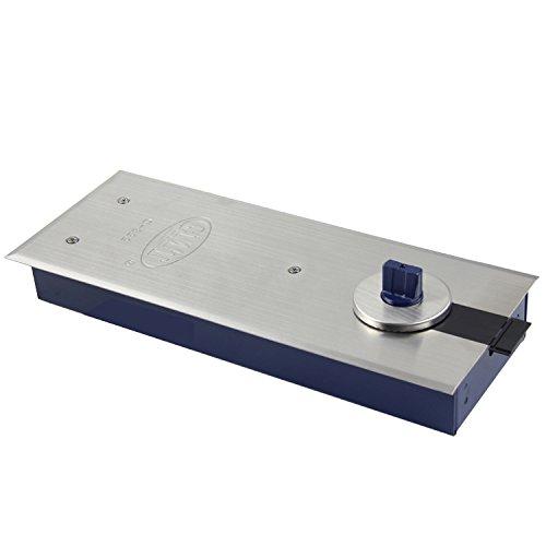 UHPPOTE GMT Super Dünn Typ Boden Frühling Glas Scharnier Schließer für Max Tür Gewicht 105kg Breite 800-950mm (Gmt Auto)