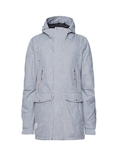 Zimtstern Damen Snow Jacket Maha Women Light Grey, XS
