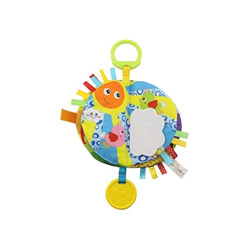 Hosaire 1x Libros de Tela para Bebé Blandos Juguetes de Bebe Niños Niñas Libro Blando con Mordedor Aprendizaje y Educativo de Juguete Recién Nacido,Estilo 2