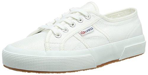 Superga Women's 2750 Lamew Low-Top Sneakers White Size: 5