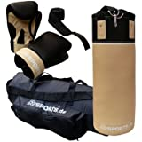 Boxing Set Boxing Kit For Adults - 12 Kg Punching Bag With Gloves 10 Oz