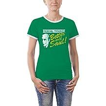 Touchlines - Camiseta de running para mujer