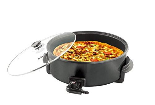 Kochmaster Elektrische Pizza Pfanne Ø 42 cm / 11 cm Black