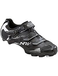 Northwave Mission Plus MTB Trekking Scarpe ciclismo nero/verde 2016: Taglia: 42