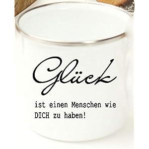 Kaffee- Emaille- Tasse fürs Büro mit Spruch/Geschenk für beste Freundin Frauen Männer Kollegen