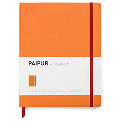 Premium Notebook by PAIPUR - Thick Luxe Paper - Large