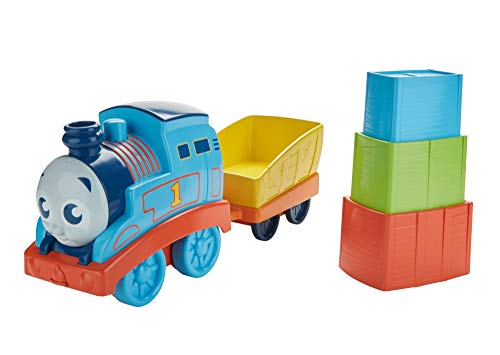 Thomas & Friends FKM92 My First Stack and Nest Thomas, Thomas the Tank Engine Toy Engine, My First Toy Train for Toddlers