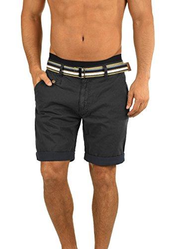 Twill-hose Kurz (INDICODE Cuba Shorts, Größe:S;Farbe:Black (999))