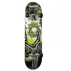 Idea Regalo - Skateboard Skate Max Mod. Green Ace