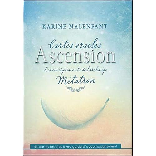 Cartes oracles Ascension - Les enseignements de l'archange Métatron - Coffret