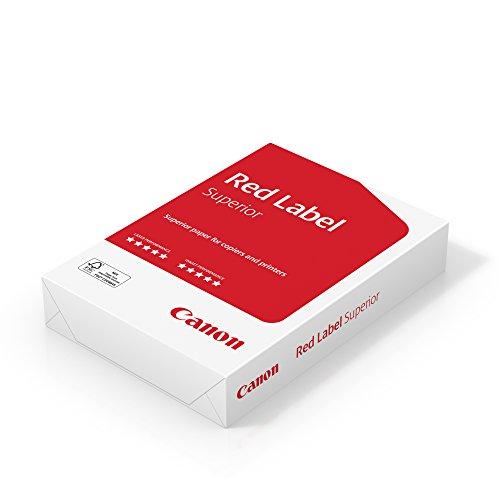 Canon Label Superior A4 80g/m² Geschäftspapier, 500 Blatt FSC zertifiziert, alle Drucker, hochweiß