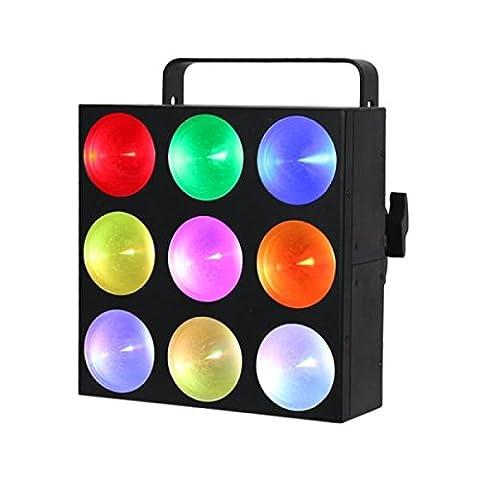 LEDJ Mini Pix 9 Panel DJ Stage Wash Effect Light