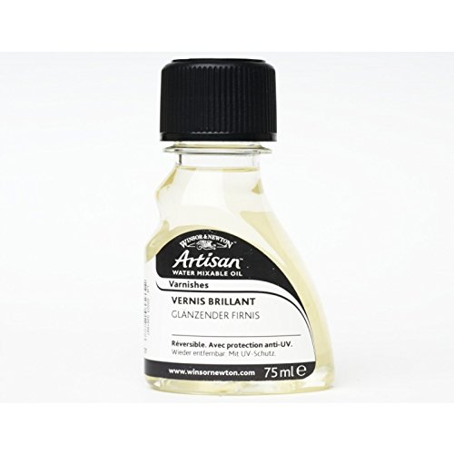 Winsor & Newton 2621721 Artisan Öl - Firnis für wassermischbare Ölfarben - Glanz Firnis, 75ml Flasche