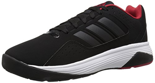 Adidas Performance Cloudfoam Ilation scarpa da basket, nero / bianco / bianco, 6,5 M Us Black/Black/Power Red