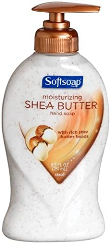 Softsoap Shea Butter Liquid Hand Soap Pump, 8.5-Ounce Bottles by Softsoap