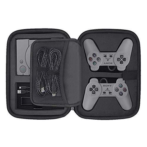 PlayStation Classic Tasche, Deluxe Tragetasche Harte Schalle Hülle für Sony PlayStation Classic Konsole und Zubehör (2018)