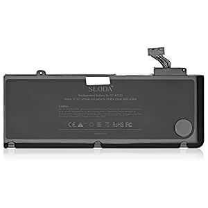 sloda laptop replacement battery for apple macbook pro 13. Black Bedroom Furniture Sets. Home Design Ideas