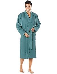 WEWO Fashion Damen / Herren Unisex Bademantel / Kimono # 3753
