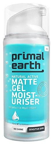 Primal Earth Matte Gel After-Shave Moisturiser 75ml (2.5 oz)