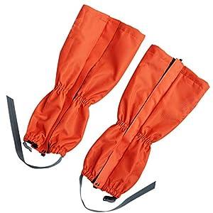 TZTED Wasserdichte Gamaschen Outdoor Gamaschen Wandern, Skifahren, Wandern, Bergsteigen, Jagen Gaiter haltbare Winddicht wasserdicht Wärme Schuhe