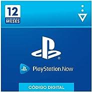 Sony, PlayStation Now - Suscripción 12 Meses | PS5/PS4/PS3 | Código de descarga PSN - Cuenta española