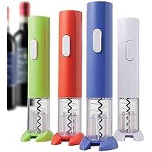 BRANDANI CAVATAPPI ELETTRICO a batteria verde, rosso, blu, bianco