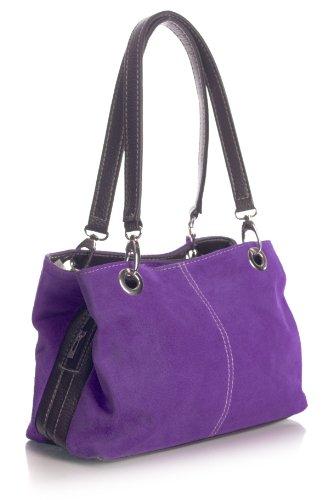 Big Handbag Shop,  Viola elettrico - nero Trim