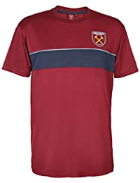 West Ham United FC Polo Oficial para Hombre - A Rayas 8O5gjEb