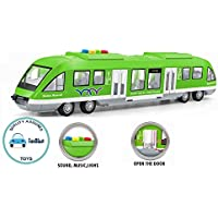 FunBlast Mumbai Monorail Train Toy for Kids, Big Size Train Set for Kids with Light and Sound, Bump and Go Musical Toy…