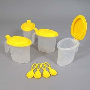 Tupperware Service Pot Boîte à Epices Condiments