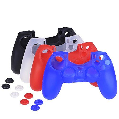 mudder-protector-para-mando-de-ps4-game-cubierta-de-siliconas-de-4-colores-con-4-pares-de-agarres-pu