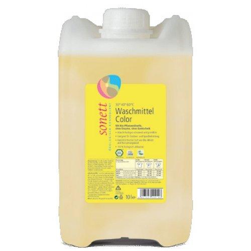 Sonett, Color-Waschmittel flüssig Mint & Lemon, 10000 ml
