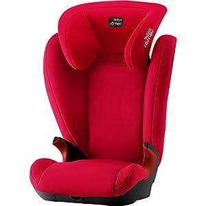 Britax Römer KID II BLACK SERIES Group 2-3 (15-36 kg) Car Seat - Fire Red   12