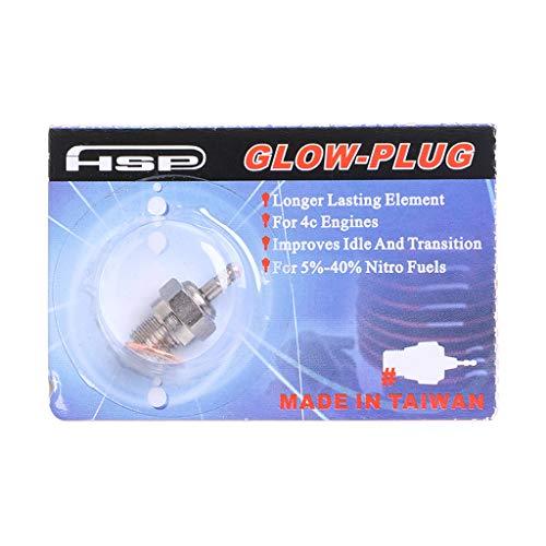 Kimruida HSP N3 N4 Glühkerze 70117 Für RC Fernbedienung Nitro Cars Modell 4C Motoren