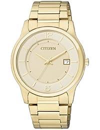 Citizen Herren-Armbanduhr Analog Quarz Edelstahl beschichtet BD0022-59A
