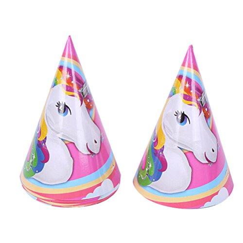 TRIXES Piezas unicornio multicolor fiestas cumpleaños