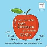 Baby-Bilderbuch ab 6 Monate - Essen