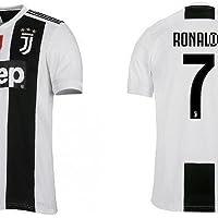 JUVE Completo Maglia Pantaloncino Ronaldo Juventus CR7 Replica Ufficiale Pari A Originale (6 Anni)