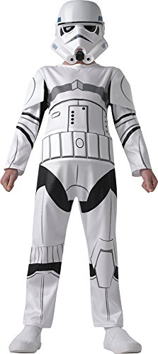 Stormtrooper Star Wars Rebels Kostüm für Kinder, (Wars Rebels Stormtrooper Star Kostüm)