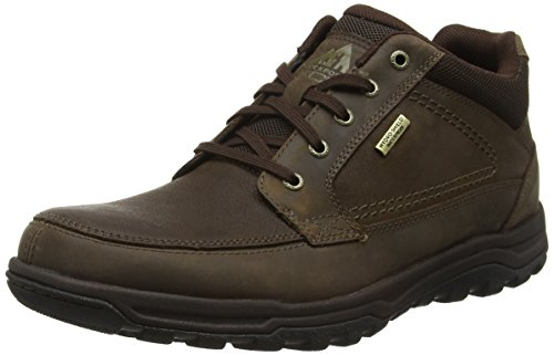 RockportTrail Technique Waterproof - Stivaletti uomo, Marrone (Braun (DK BROWN)), 44.5