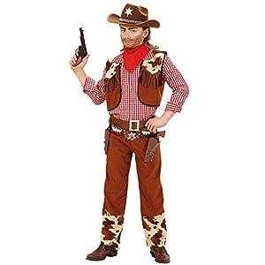 WIDMANN Widman - Disfraz de cowboy para niño, talla 10 (58807)