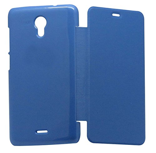 vrv Flip Cover for Micromax Canvas Unit 2 A106 - Blue  available at amazon for Rs.165