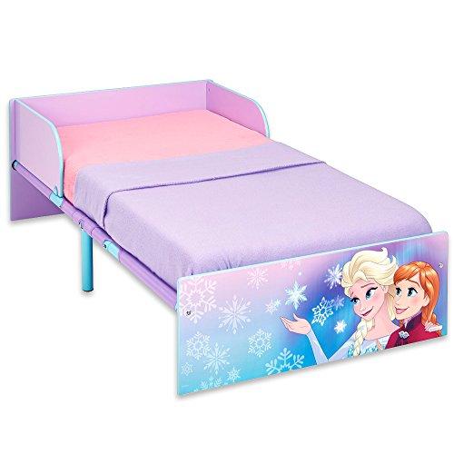 Disney Babybett - Holz Kinderbett - Jugendbett - Kinderbett 140x70 cm mit Motivauswahl (Frozen)