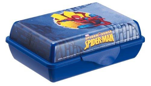 Rotho Babydesign 7739640159 - Aufbewahrungsbox Creativ Funbox, Motiv Spiderman 0.9 L