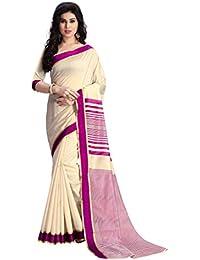 Venisa Artificial Silk/Cotton/Cotton Silk Saree (Multicolour)