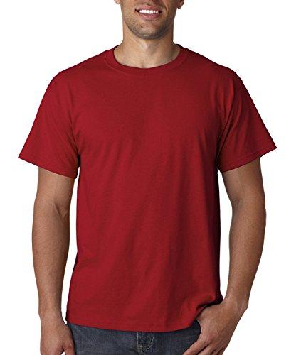 Fruit of the Loom Herren T-Shirt Purpur