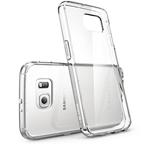 Cover per Samsung Galaxy S6 [ Antigraffio ] / i- Blason **Clear** [ Halo Series ] Custodia Case per Galaxy S6 ibrida della copertura del respingente