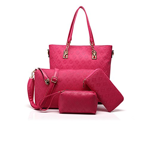 Anne, Borsa a spalla donna nero Rose red Rose red